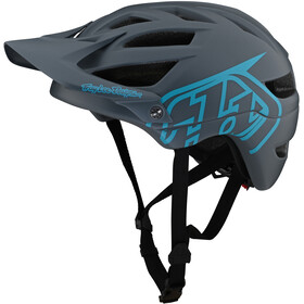 Troy Lee Designs A1 Helmet, drone grey/blue